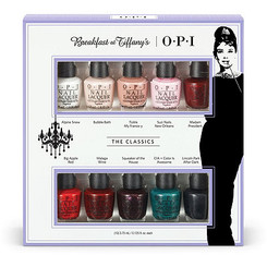 OPI Breakfast at Tiffany's 10-Pc Mini Set