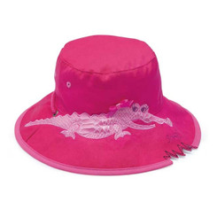 Wallaroo Hat Kids Pink Crocodile