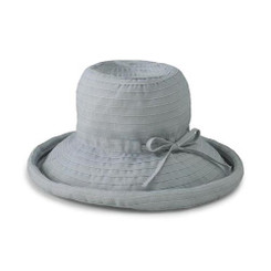 San Diego Hat Co. Women's Ribbon Medium Brim Floppy