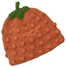 Lil' Pumpkin Crochet Baby Hat
