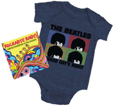 Beatles Hard Day Onesie Gift Set