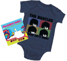 Beatles Hard Day Onesie & More Beatles Gift Set