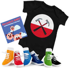 Pink Floyd Onesie CD and Socks Boys Gift Set