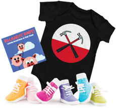 Pink Floyd Onesie CD and Socks Girls Gift Set