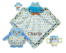 Adorable Owl Gift Set Blue