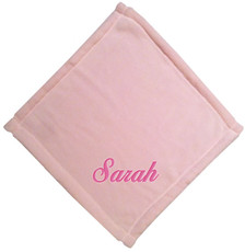 Pale Pink Micro Fleece Baby Blankie