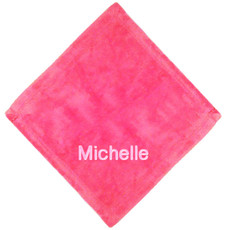 Raspberry Micro Fleece Baby Blankie