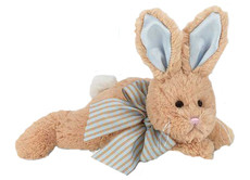 Baby Bunny Tail Rattle