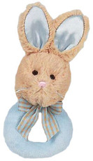 Lil' Bunny Tail Ring Rattle