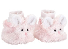 Cottontail Baby Booties