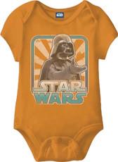 Star Wars Darth Vader Baby Onesie