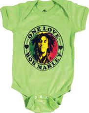 Bob Marley One Love Baby Onesie