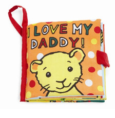 I Love My Daddy book from Jellycat