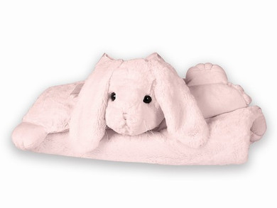 Bunny Belly Blanket from Bearington Baby
