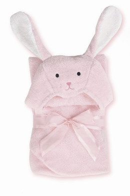 Bunny Hugs Hooded Towel from Bearington Baby