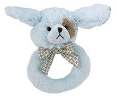 Waggles Ring Rattle from Bearington Baby