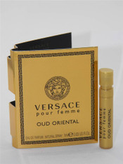 5 x Versace Oud Oriental Femme Eau De Parfum EDP Vial Sample Spray 1ml 0.03 fl