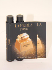 2 x La Perla J'aime Gold Edition Eau De Parfum EDP Vial Sample 1.2ml 0.04 fl oz