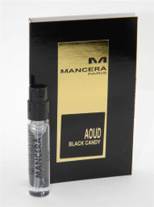 Mancera Aoud Black Candy EDP Vial Sample 2ml 0.07oz New With Card