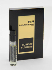 Mancera Musk of Flowers EDP Vial Sample 2ml 0.07oz New With Card