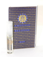 Amouage Beloved Man EDP 2ml Vial Sample New With Card