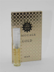 Amouage Gold Man EDP 2ml Vial Sample New With Card