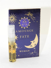 Amouage Fate Woman EDP 2ml Vial Sample New With Card