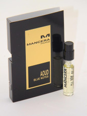 Mancera Aoud Blue Notes EDP Vial Sample 2ml 0.07 fl oz New With Card