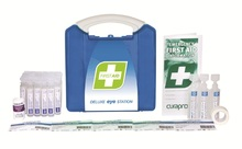 Deluxe Eye Station First Aid Kit  Plastic Portable