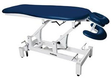 S-Series Massage Table has a specially designed head piece that adjusts to suit the face of each patient.