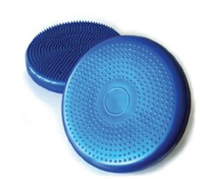 Physio Med Air Cushion Features: Physical co-ordination Mobilisation of the pelvic floor muscles Balance Promoting strength and flexibility of back muscles As a therapeutic exerciser for rehabilitation after a sport injury Posture training