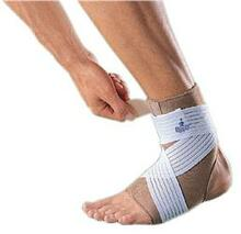 ANKLE SUPPORT with STRAP -Removable surgical elastic strap adjustable compression & support for ankle joint