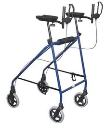 Days Gutter Walker is Designed to keep the user in an upright position for gait training.