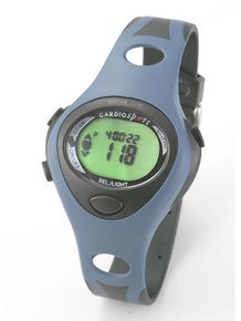 Compact watch design with stylish, wraparound, colour coordinated strap. There is a single button for switching heart rate ON and OFF and everything has been laid out to make this technology very user friendly.