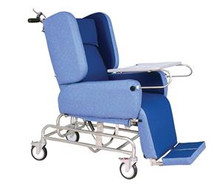 Comfort Chair Complete with tray, footplate and neck support