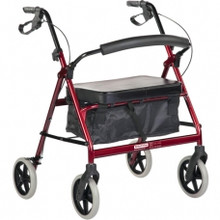 BetterLiving Bariatric Maxi Plus Rollator is Manufactured from steel to be specially strong for the heavier user.
