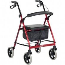 The Better living Tall Rollator is specially designed with a higher seat for the taller user.