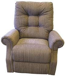 Days Four Button Back Recliner comfort chair.
