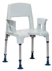 Aquatec Pico modular Shower stool Complete with Armrests and Backrest