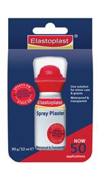 Elastoplast Spray Plaster is an antiseptic plastic skin for most superficial cuts and abrasions. It's your one stop solution for all minor cuts and scrapes.
