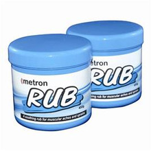 Metron Pain relief rub