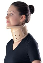 The Cervical Collar provides support and is height adjustable to provide desired flexion or extension.