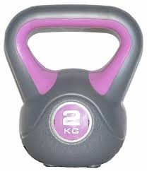 Healthstream Vinyl Kettle Bell 2 Kg