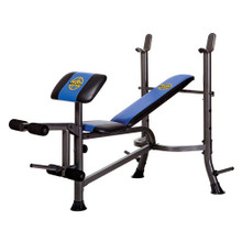 The Marcy standard weight bench is a versatile weight bench which enables the user to target various muscle groups.