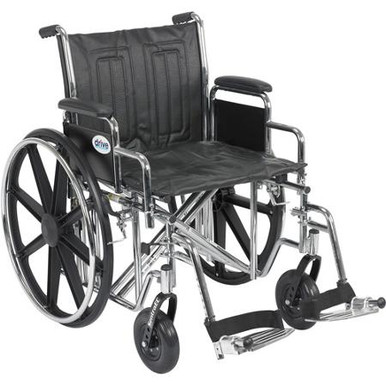 Sentra EC Bariatric Wheelchair is a very strong sturdy wheelchair yet provides a nice smooth ride for the user.