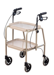The Trolley walker has clip on trays which can easily be removed for cleaning.