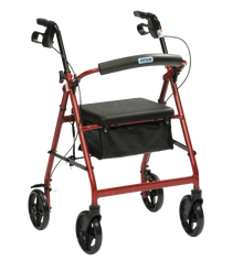 Lightweight Aluminium Rollator with Bag