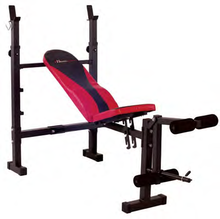 The Healthstream HS7501 is a quality exercise bench. HS7501 is an adjustable bench allowing the user to do flat or incline exercise options. This exercise bench also has options to do leg extensions. Great bench at a great price.