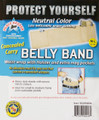 Belly Band Waist Wrap Holster Large Natural 36-44 Waist