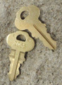 Bradley 2055 Dispenser Key 2 Pack